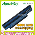 Apexway Laptop Battery for Acer Aspire one 532h 533 UM09H31 UM09G31 UM09H41 UM09G41 UM09H36 UM09G51 UM09H56 UM09H70 UM09H73