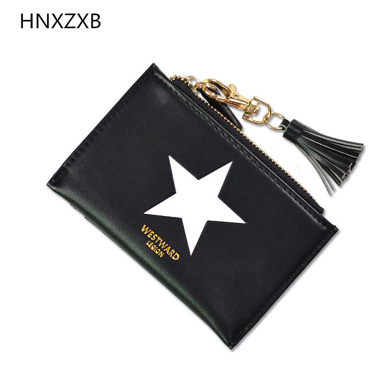 HNXZXB Patent Leather Women Short Wallets Ladies Small Wallet Zipper Coin Purse Pocket Female Wallet Purses Money Bag 5012
