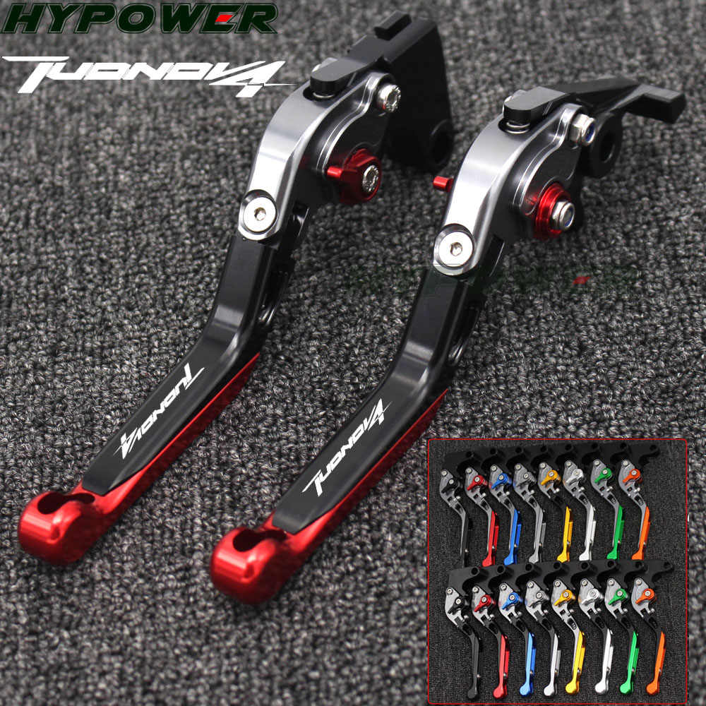 For aprilia TUONO V4 1100RR/Factory 2017 2018 CNC Adjustable Motorcycle Brake Clutch Levers