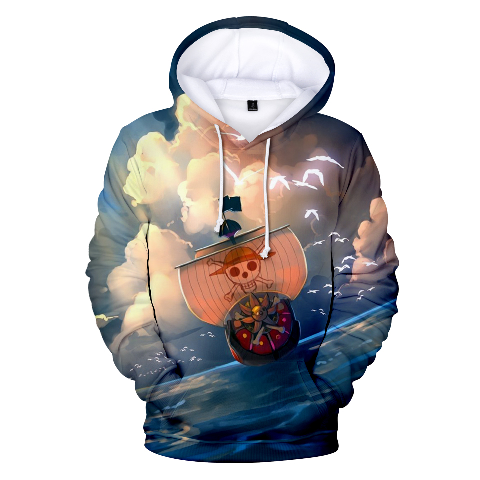 One Piece Robin Ace 3D Print Hoodies Sweatshirts Autumn Winter Fashion Anime 3D Print Autumn Luffy Hoodies Men/Women Polluvers