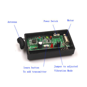 Image 3 - Sleeplion DC 1.5V רטט תזכורות אלחוטי שלט רחוק תזכורות ויברטור RF מעורר מערכת