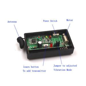Image 3 - Sleeplion DC 1.5V Vibration Reminders Wireless Remote Control Reminders Vibrator RF Alarm System
