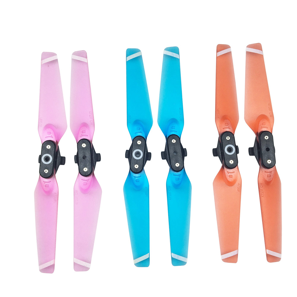 Replacement DJI drone accessory DJI Spark Drone Propellers Prop Folding Blade Quick release Props RC Spare 6 Colors