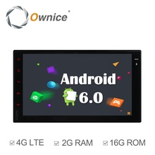Ownice C500 Android6.0 2G RAM 1024*600 2 DIN universal car gps car stereo radio Player Support 4G SIM LTE Network DAB+ NO DVD