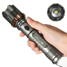 CREE XML T6 8000 Lumens 3 Modes LED Flashlight Zoomable Strong Light Tactical Torch Aluminium alloy Lamp Lantern Hunting 18650