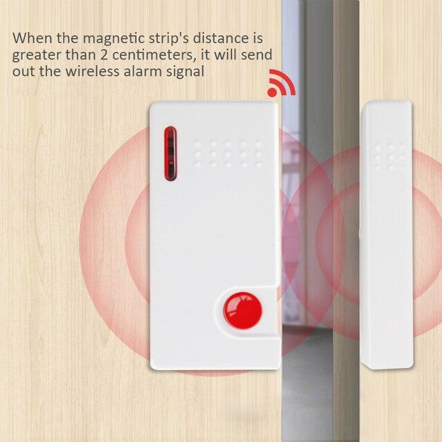 Détecteur de porte fenêtre sans fil   5 pièces, capteur pour focaliser le système dalarme à la maison, 2006,,,