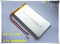 Rechargeable Lipo Battery Cell 3 7 V 8873130 10000 Mah Tablet Battery Brand Tablet Gm Lithium