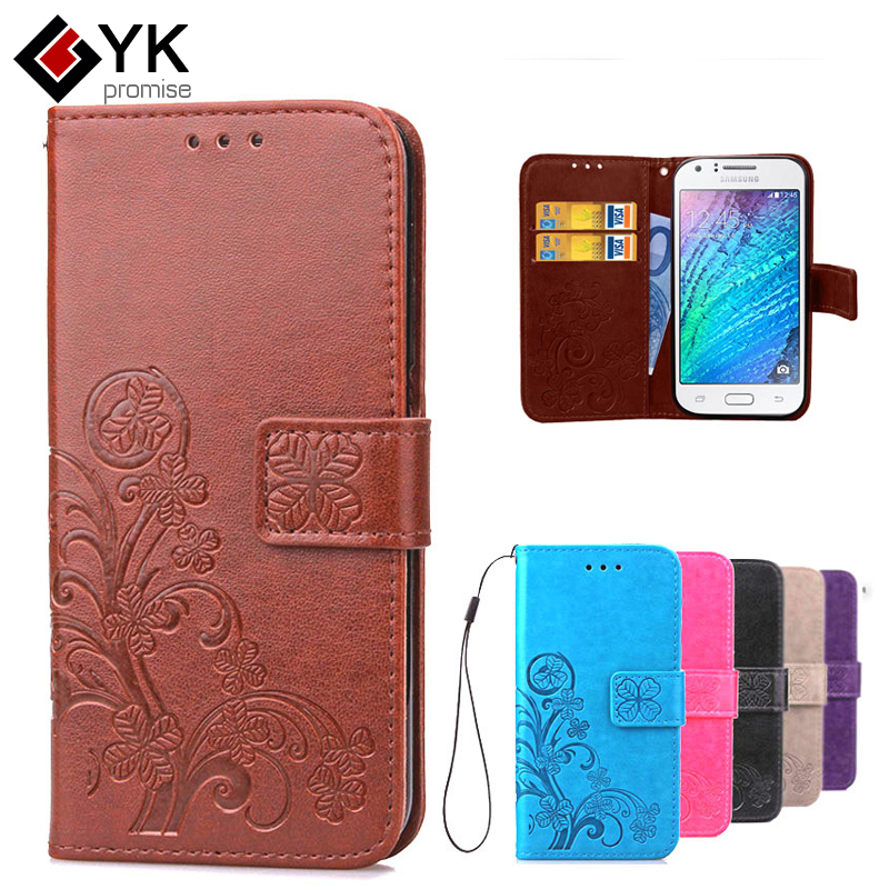 Leather Case for Coque Samsung Galaxy J1 Case J100 J100f J100H Fashion Wallet Flip Case Silicone Phone Cover For Samsung J1 2015