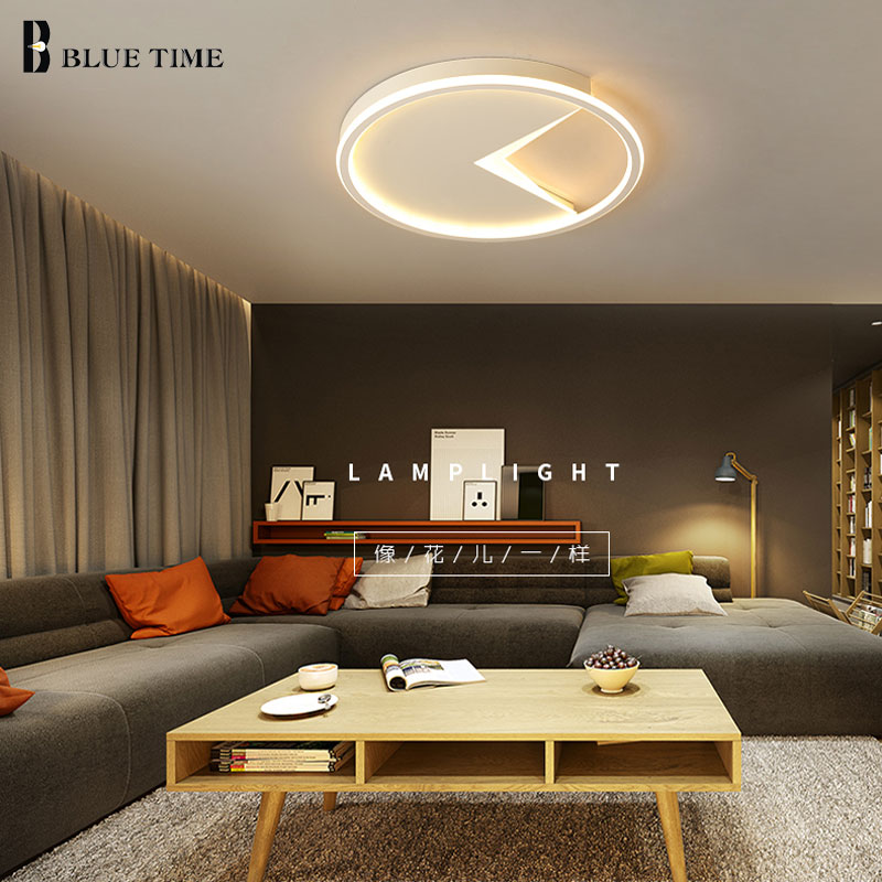 Creative Acrylic Modern Led Ceiling Lights For Living room Dining room Bedroom AC110V 220V Fashion Round Ceiling Lamp Lustures coffee body rings modern led ceiling lights ac110v 220v art decoration led ceiling lamp for living room bedroom dining room lamp