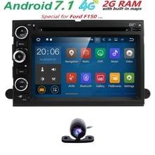 Android 7.1 dvd-плеер автомобиля для Ford F150 F350 F450 F550 f250 2004-2008 Fusion экспедиции Mustang Explorer край 2 ГБ Оперативная память Авторадио