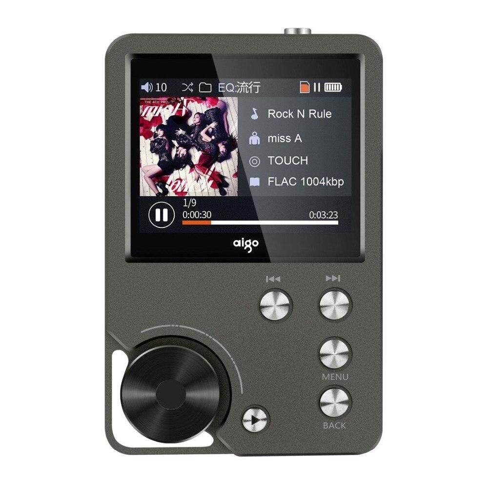 Aufrichtig Aigo Mp3-105plus Hallo-res Auto Musik Player Mp3 Hifi Flac Tragbare Mini Dsd128 Verlustfreie Decodierung Musik Player Mp3 Mit Bildschirm Delikatessen Von Allen Geliebt Unterhaltungselektronik