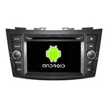 ROM 16G Quad Core 1024*600 Android 5.1.1 Fit SUZUKI SWIFT 2011 2012 Coches Reproductor de DVD GPS TV 3G de Radio navegación
