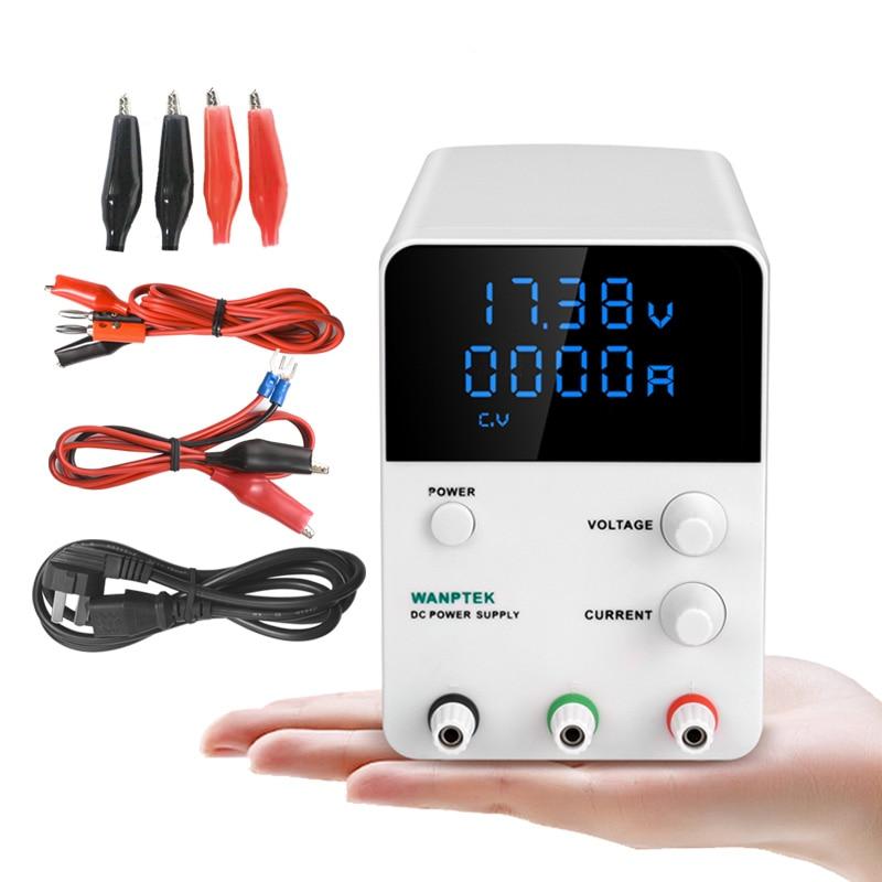 Wanptek réglable dc alimentation GPS3010D Variable 30 V 10A Réglementé la puissance modul de commutation Numérique laboratoire alimentation - 2