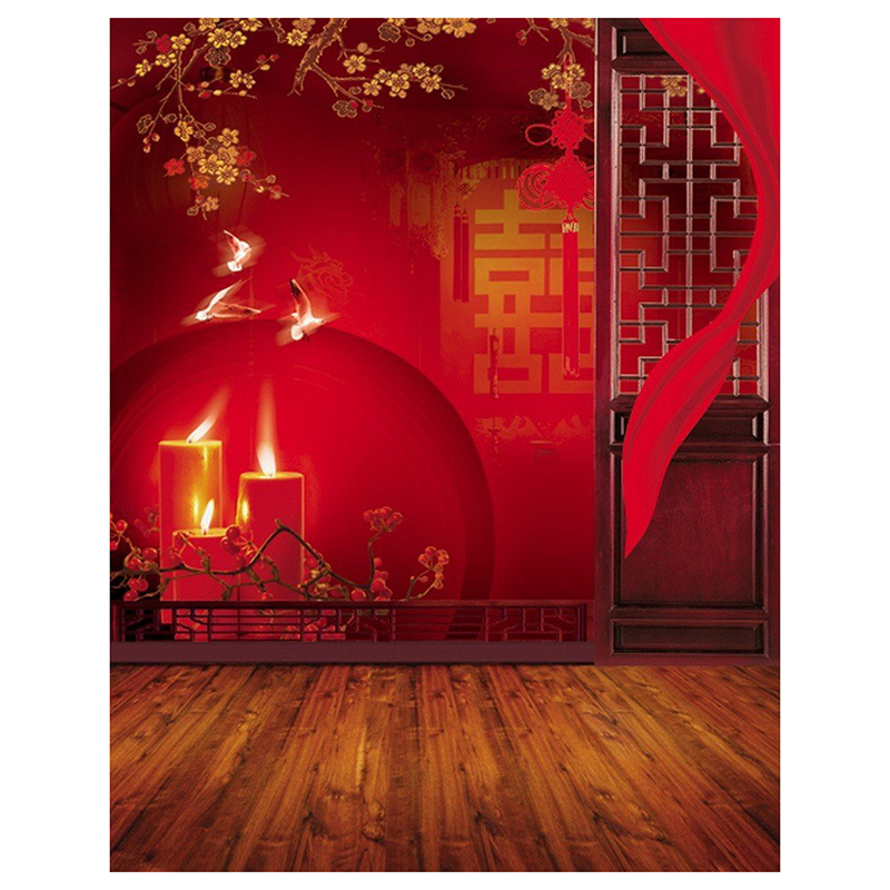 3x5ft Vinyl Red Chinese Lunar New Year Spring Festival ...
