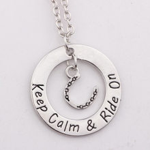 CJZBLXDZ00051 You are my ohana flower letter necklace(China)