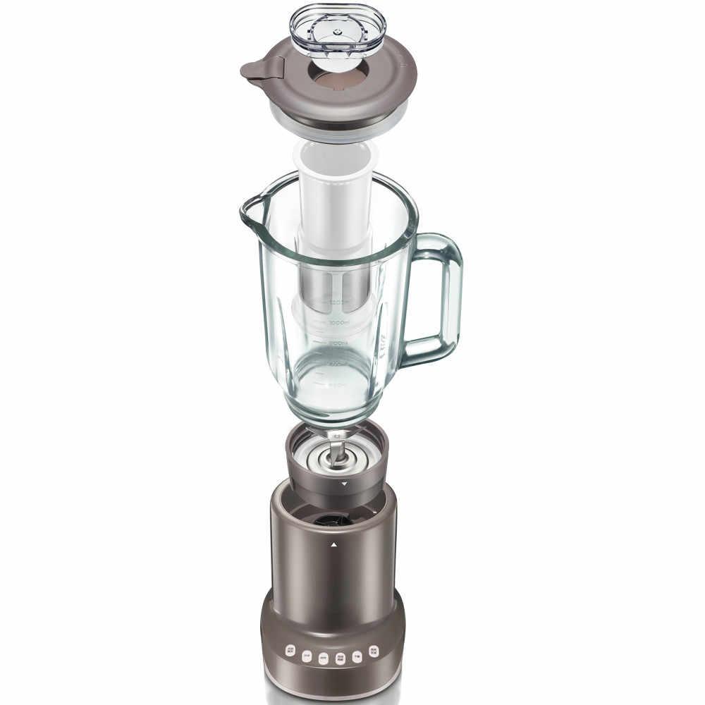 Liquidificadores Inteligente máquina de cozinhar casa multifuncional moedor de carne suco de moagem de vidro.