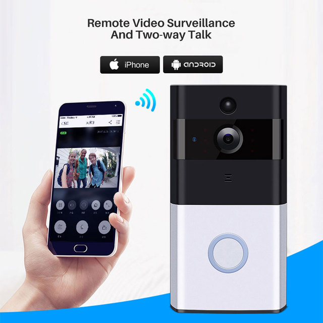 WIFI Doorbell Camera W/ Two Way Audio
