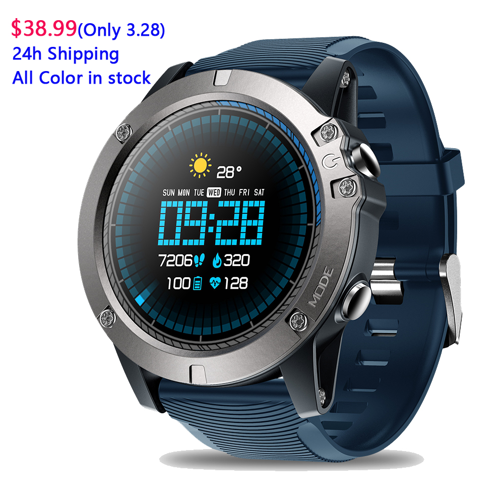 Zeblaze VIBE 3 Pro Smart Watch Men 1.3 Inch Real-time Weather Optical Heart Rate Monitor All-day Tracking IP67 Sports SmartwatchZeblaze VIBE 3 Pro Smart Watch Men 1.3 Inch Real-time Weather Optical Heart Rate Monitor All-day Tracking IP67 Sports Smartwatch