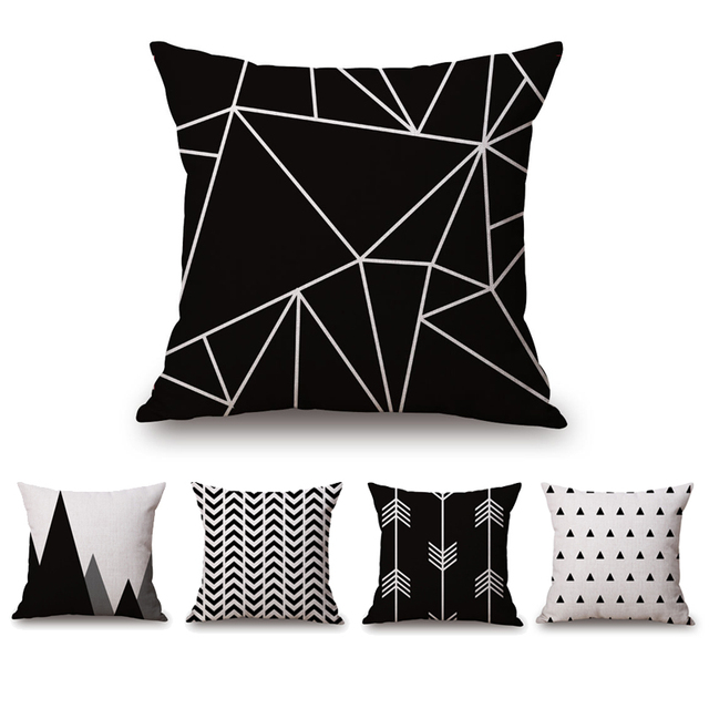 coussin noir perfect coussin carre paola navone ligne. Black Bedroom Furniture Sets. Home Design Ideas