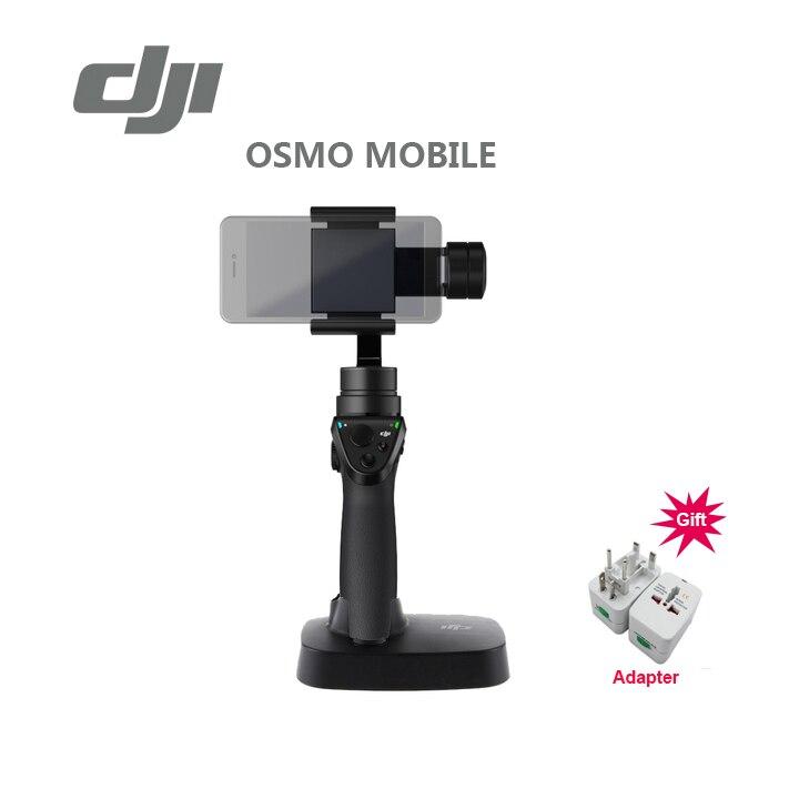 Prix pour Freeshipping D'origine DJI OSMO Mobile De Poche Cardan 3-Axis avec osmo base de poche cardan En stock meilleur cadeau de noël