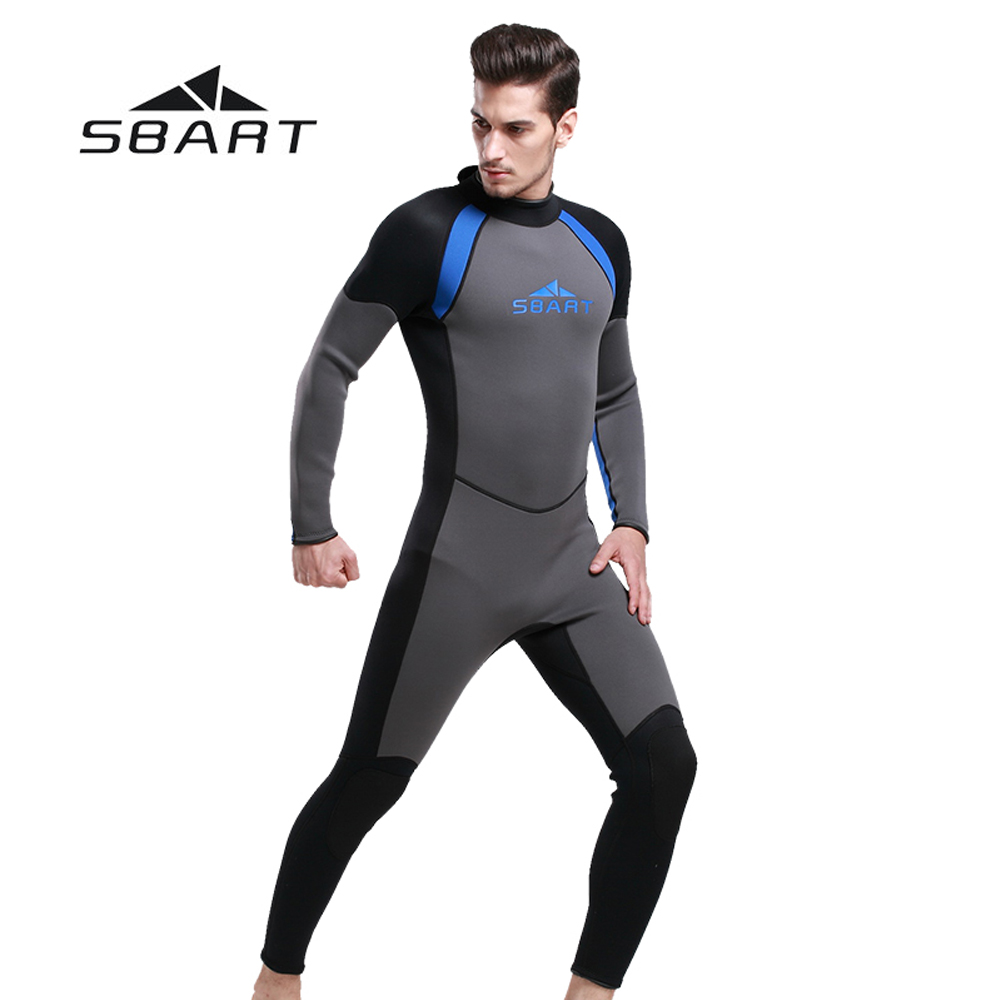 NEW SBART Men Wetsuit One Pieces Suit Diving Surfing Snorkeling Swimwear Fishing Spearfishing Full Body Jumpsuit 3mm Neoprene sbart 3mm neoprene men camouflage full body wetsuit spearfishing fishing swimwear scuba diving suit jumpsuit snorkeling wetsuit