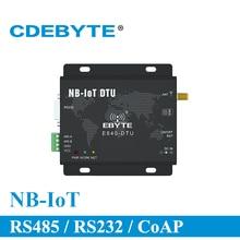 NB IoT kablosuz alıcı RS232 RS485 RS232 RS485 868MHz E840 DTU (NB 02) SMA konnektör AT komutu RF modülü