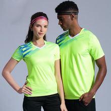 Мужские теннисные рубашки для фитнеса мужчин и женщин тренировок