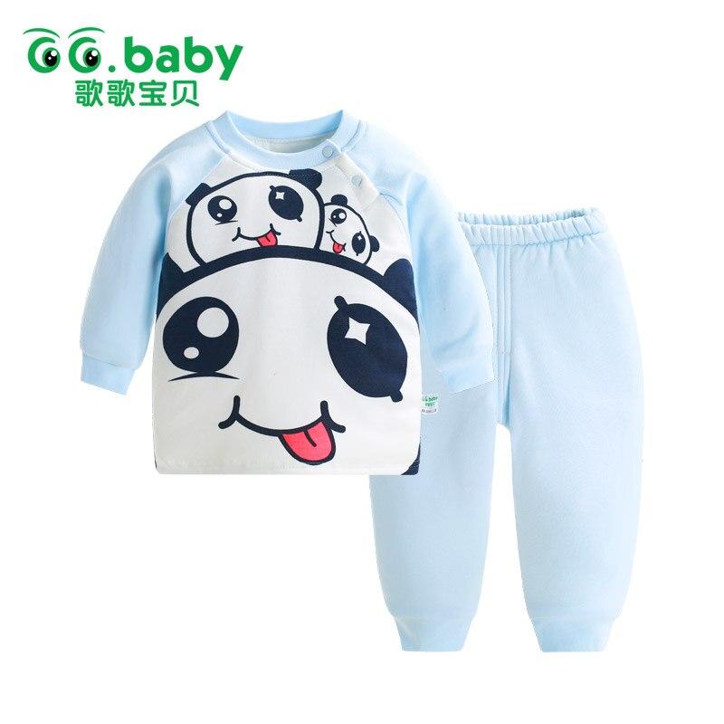 Animal Panda Newborn Set Boy Clothes Sets Winter Long Sleeve Baby Girl Outfits Infant Baby Boy Clothing Pajamas Set Sleepwear