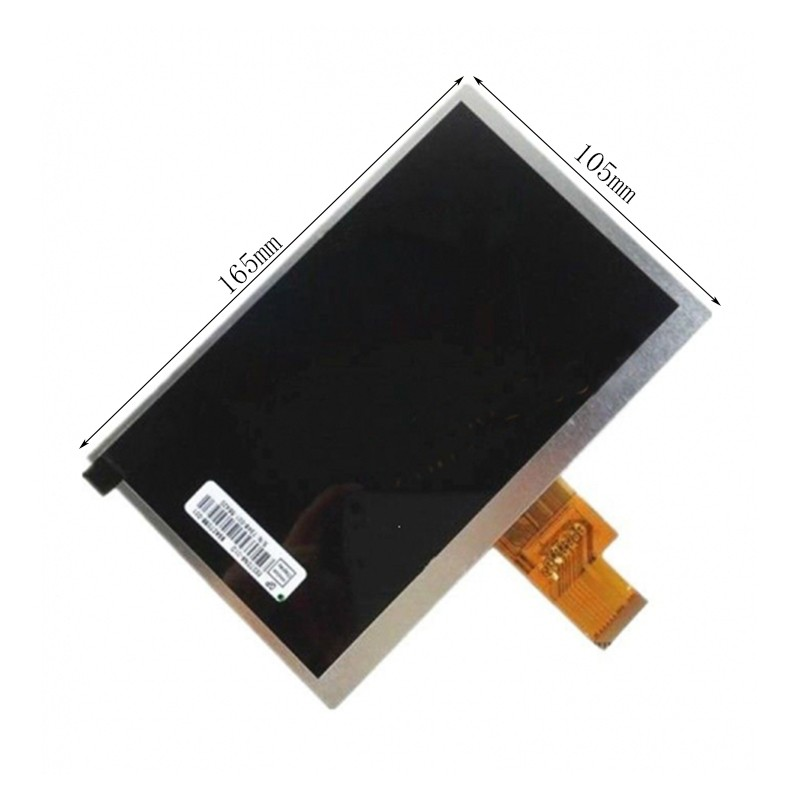 все цены на New 7 Inch Replacement LCD Display Screen For 3Q Q-pad LC0706B 1024*600 tablet PC Free shipping онлайн