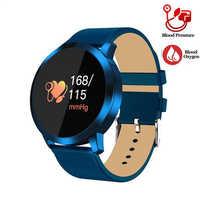 Reloj inteligente GEJIAN para mujer pulsera de oxígeno de presión arterial IP67 impermeable deportivo rastreador podómetro conexión IOS Andriod