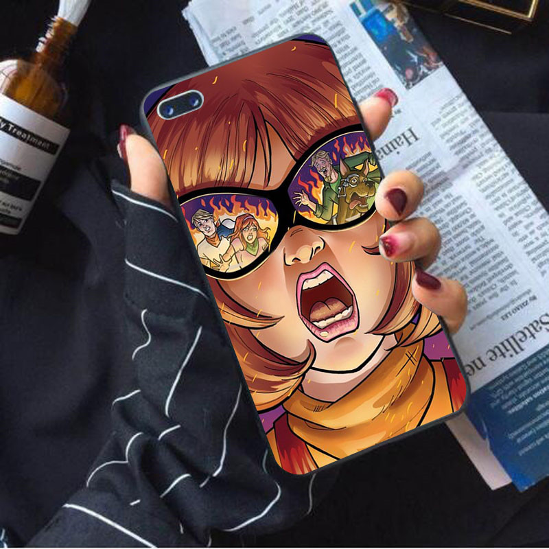Scooby Doo apocalypse soft case for Apple iphone x xs max xr cover 7 8 6 6s plus 5s se black silicone cartoon cute shell Coque in Half wrapped Cases from Cellphones Telecommunications