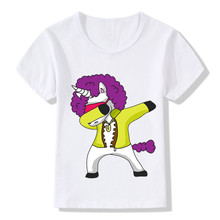 Children T Shirt Summer Tops 3D Cartoon Unicorn Print Funny Tees Girls/Boys T-Shirt Baby Casual Short Sleeve White Kids Clothes