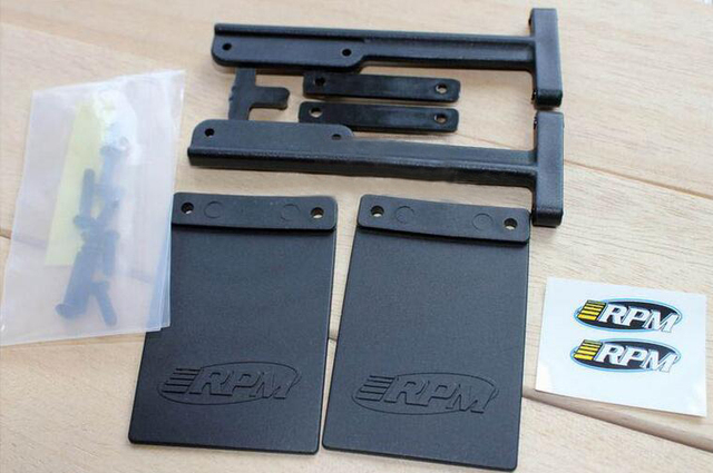 US $23 28 15% OFF Free Shipping Mud flaps for RPM Slash Rear Bumpers of the  Traxxas Slash 2wd & 4x4 versions RC Car-in Parts & Accessories from Toys &