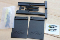 Free Shipping Mud flaps for RPM Slash Rear Bumpers of the Traxxas Slash 2wd & 4x4 versions RC Car