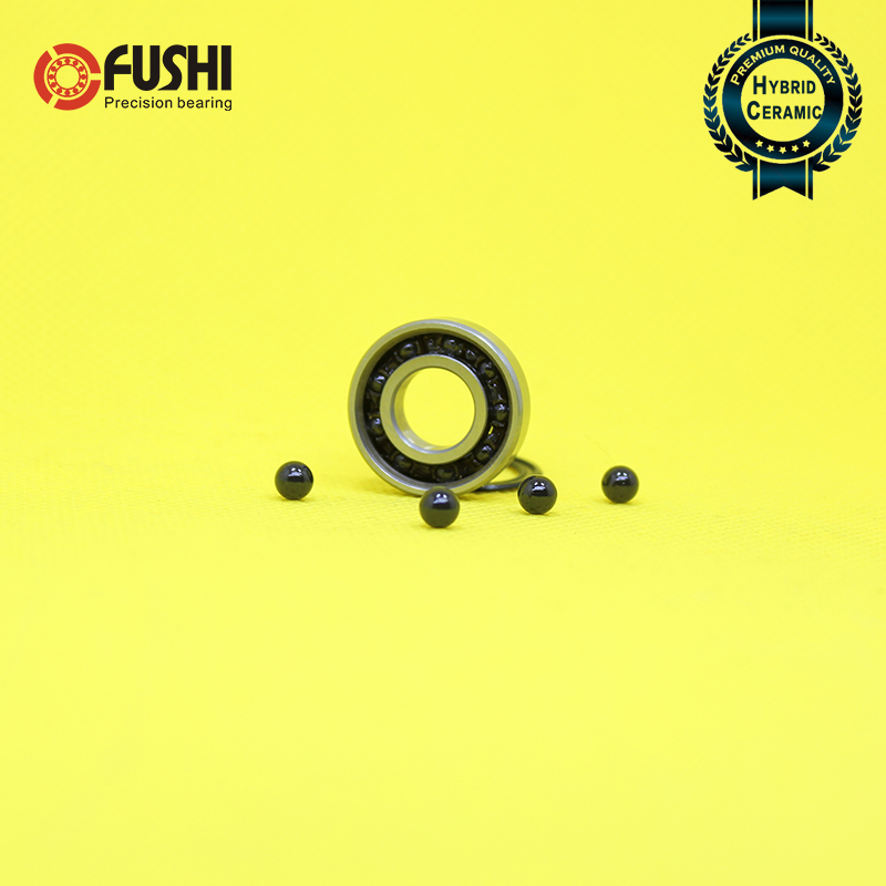 6900RS Hybrid Ceramic Bearing 10*22*6 mm ABEC-5 1PC Bicycle Bottom Brackets & Spares 6900 RS 2RS Si3N4 Ball Bearings 6900-2RS