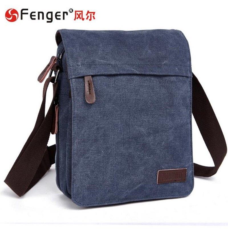 ФОТО Male canvas bag  men messenger bags travel Laptop casual shoulder Satchel sac a main