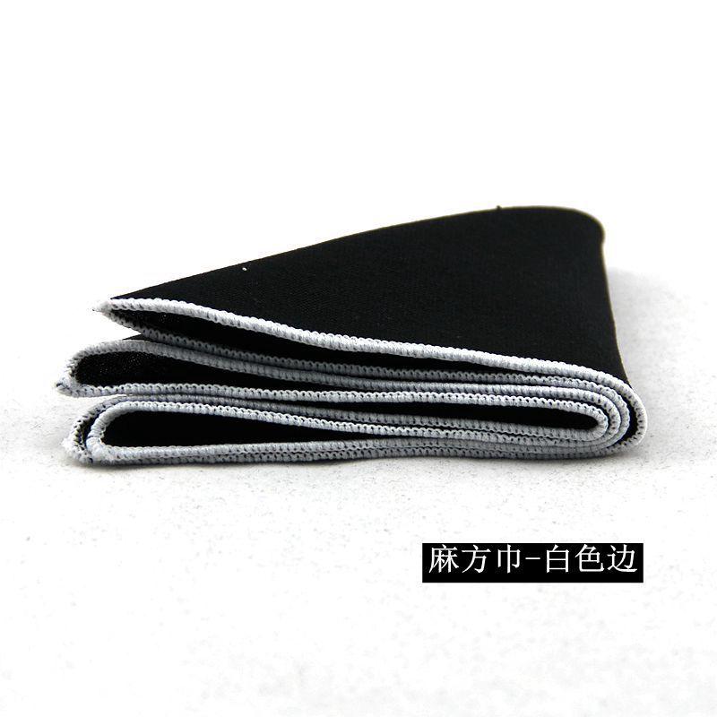 Mantieqingway New Fashion Brand Hankies Men's Pocket Square Handkerchiefs Formal Business Suits Solid Color Handkerchief 23*23cm