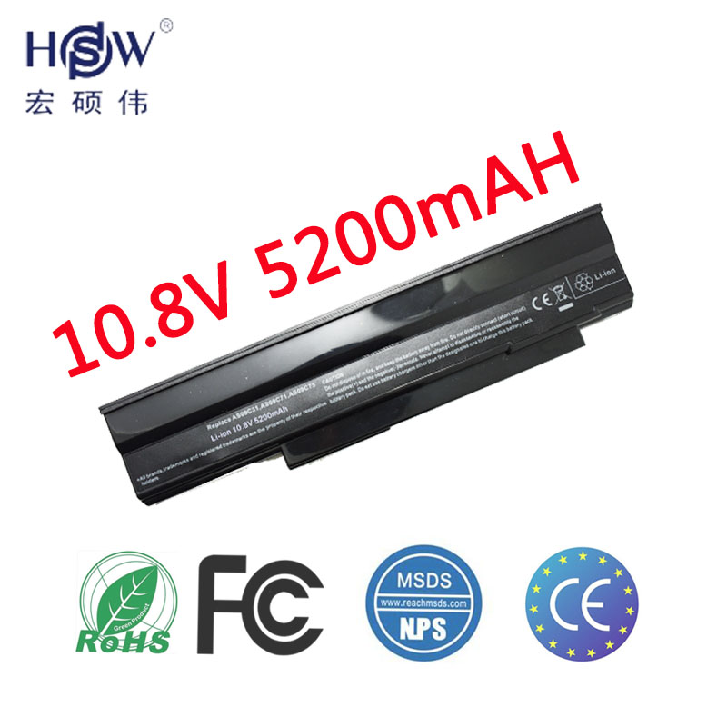 HSW Laptop Battery AS09C31 AS09C71 <font><b>AS09C75</b></font> battery For Acer Extensa 5235 5635 5635G 5635ZG ZR6 5635Z for NV42 NV44 NV48 battery image