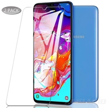 2PCS is suitable for huawei y5 Y6 y7 y9 PRO 2019 protective screen film 9H tempered glass