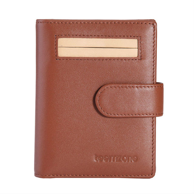 Trend Hot Men's Women's Ladies' Genuine Leather Cowhide Name Credit Business Member Card Case Holder 15 Card Slots K345
