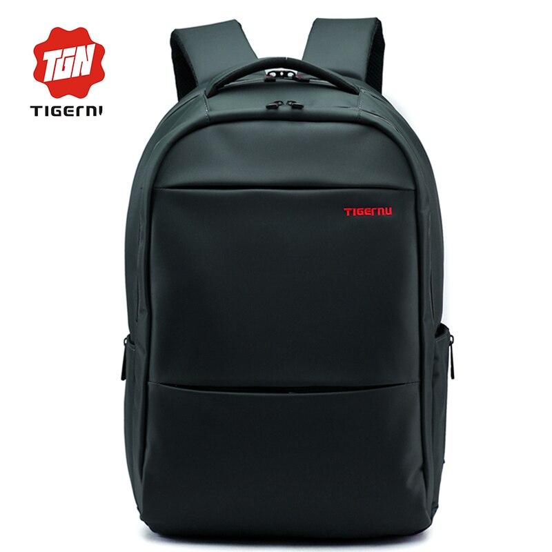 2017 women mens backpack tigernu brand 156 173 inch laptop backpack casual travel business mochila bag school backpack