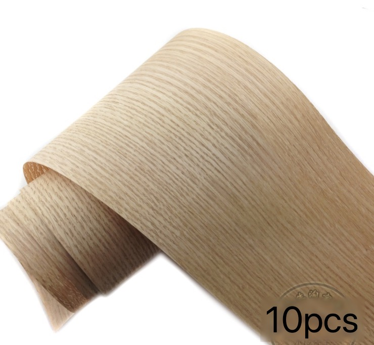 10Pieces/Lot L:2.5Meters Wide:150mm  Thickness:0.25mm  Oak Bark Wood Veneer  Furniture Decorative