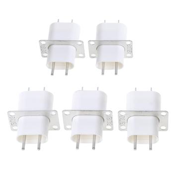 5 sztuk elektroniczny kuchenka mikrofalowa magnetronu 4 żarnika Pin gniazda konwerter domu tanie i dobre opinie CN (pochodzenie) Części kuchenka mikrofalowa Oven Magnetron