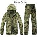 Высокое Качество TAD Шестерня Скрытень Акула кожи Soft Shell TAD V 4.0 Военная Тактическая Куртка Водонепроницаемый Ветрозащитный Армия Одежда