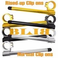 CNC Universal 36mm Für Kawasaki KX-400 A1 A2 EN-450 A1-A6 454 Ltd KH-500 A8 Clip On Lenker Normal/Rised-up Griff Bars