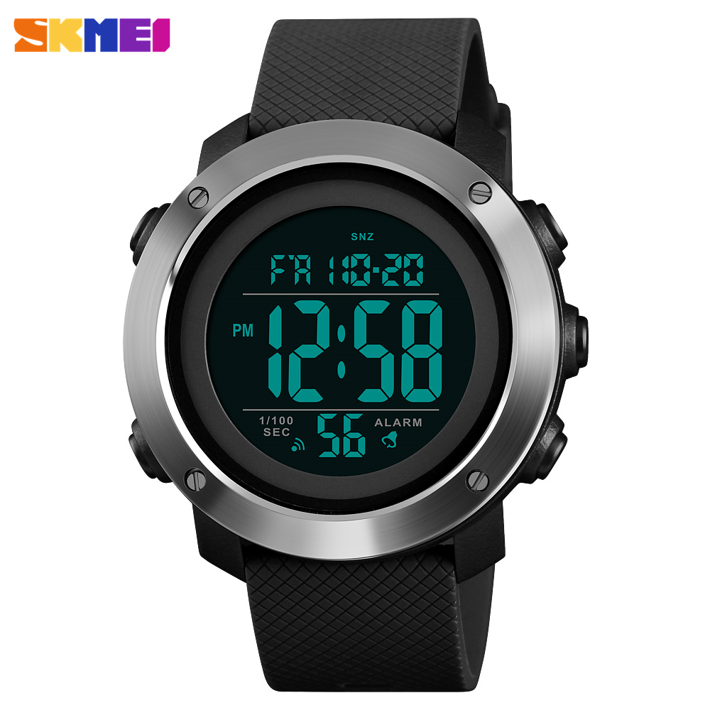 SKMEI Sport Watch hombres impermeable LED Digital relojes hombres marca de lujo Relogio Masculino Montre Homme hombre reloj hombres reloj