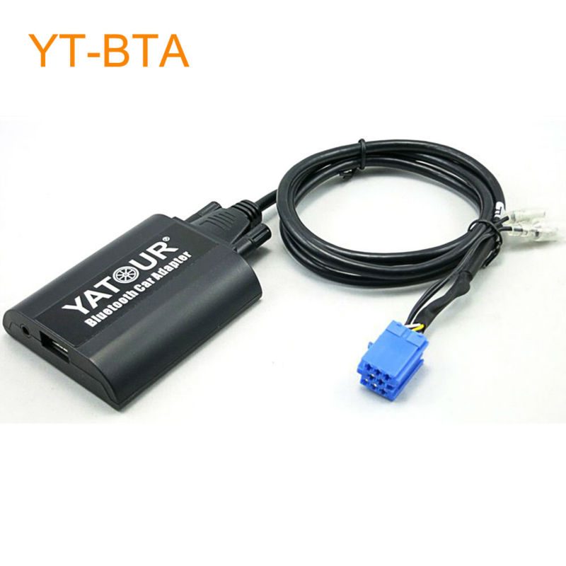 Yatour BTA Car Bluetooth Adapter Kit for Factory OEM Head Unit Radio for Lancia Musa Lybra Thesis Delta Phedra Ypsilon