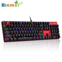 Binmer 2017 Free Shiping Motospeed Inflictor CK104 Mechanical Keyboard Switches Backlit RGB Dropshiping Sep 22