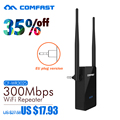 COMFAST CF-WR302S 300Mbps 2x5dBi WIFI antenna Wireless-N Wifi Router AP Repeater Amplifier 802.11 b/g/n repetidor EU/US plug
