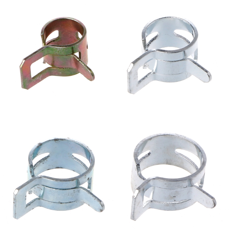 1 Pc Computer Water Cooling Pipe Clamp Elasticity Clip For Od 8/10/12/13mm Hose Wide Varieties Fans & Cooling